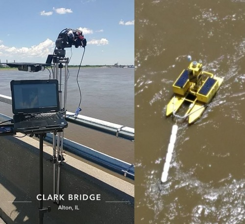 Riverside Research uses a Resonon hyperspectral camera for studying water quality.