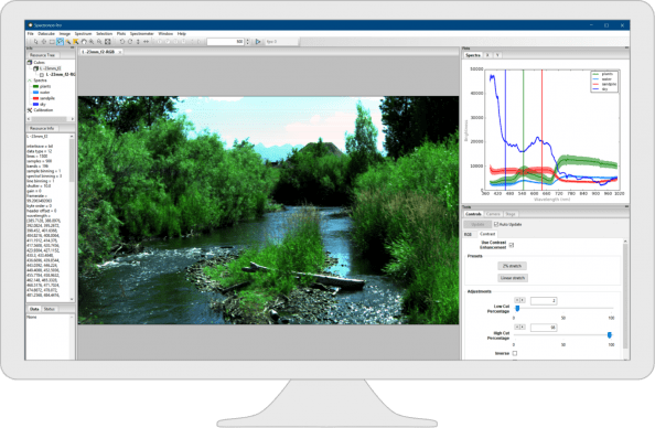 Spectronon Hyperspectral Imaging Software